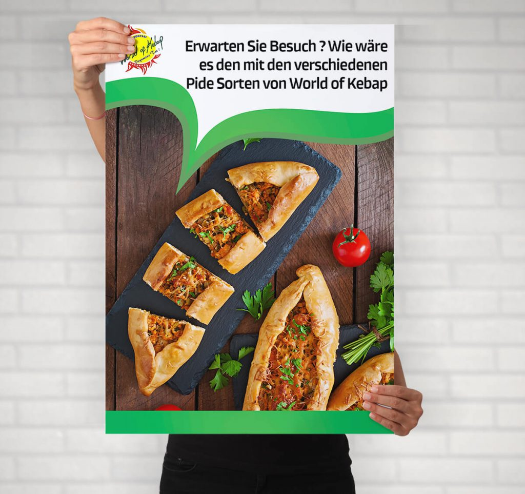 World of Kebap - Plakatgestaltung